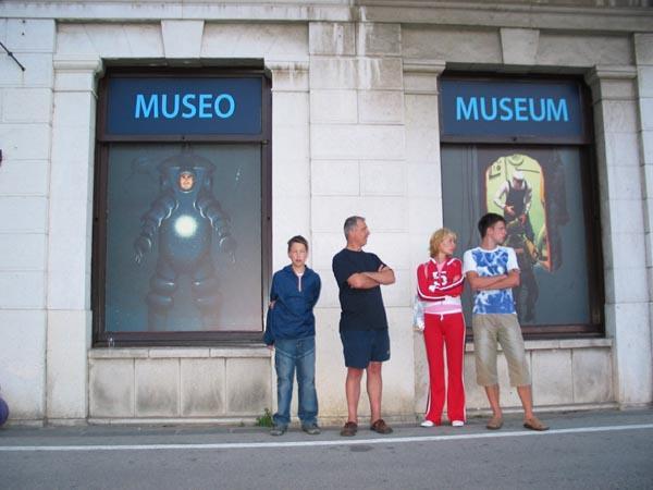 … Otvoritev Potapljaškega muzeja