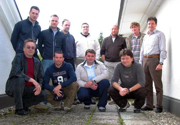 19. in 20.april 2008 – izpiti za CMAS M1, M2 in M3 instruktorje potapljanja