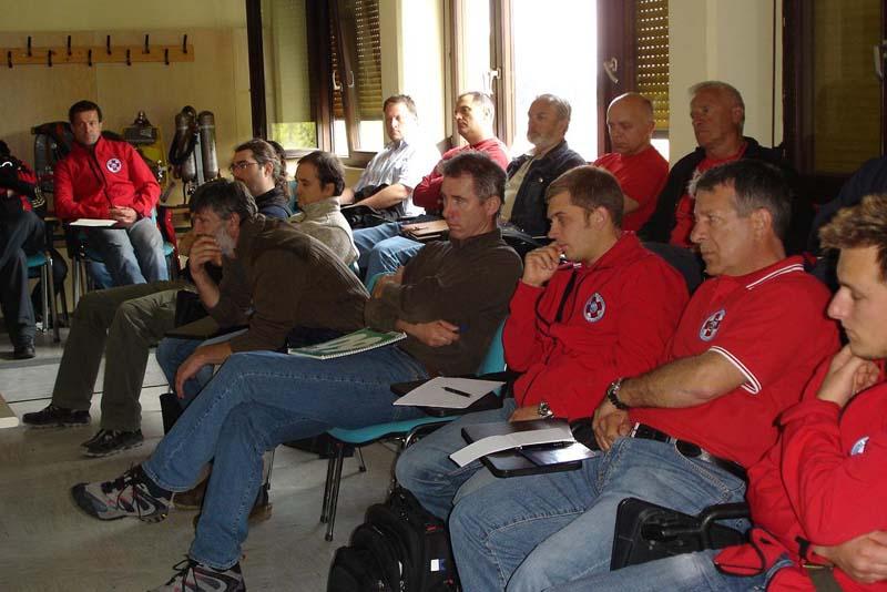 18. 4. 2009 – Prvo izobraževanje za vodje reševalnih postaj in njihove namestnike, pod novim vodstvom PRS