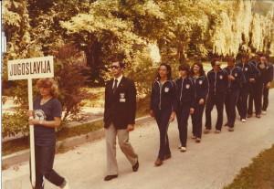 Reprezentanca YU na IX. Evropskem prvenstvu_v Podvodni orientaciji, BLED 1980